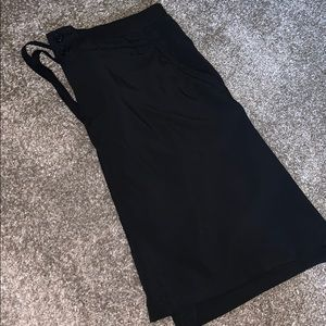 Indigo black skirt
